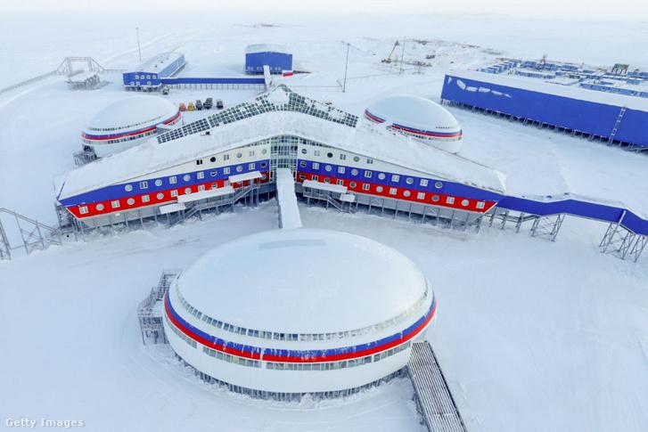 A Ferenc József-földre épített orosz típusbázis