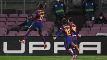 Ebben az évszázadban még nem nyert ilyen módon a Barca!