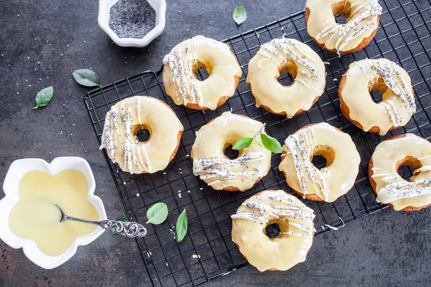 Pihe-puha citromos fánk: a tésztája a joghurttól lesz ellenállhatatlan