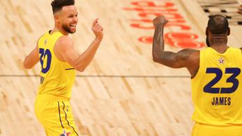 Elképesztő fizetéssel tartanák távol Curryt LeBronéktól