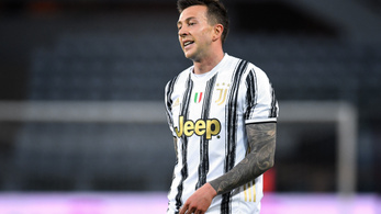 Újabb Juventus-játékos lett koronavírusos a válogatottban