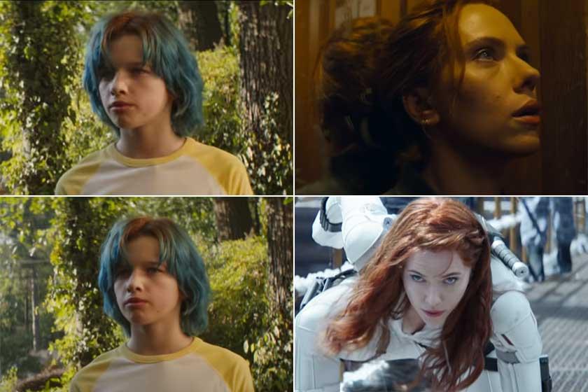 Ever csak pillanatokra tűnik fel a Fekete Özvegy legújabb trailerében. A kisfilmben kék tincsekkel látható, a rajongók pedig meg vannak győződve arról, hogy nemcsak édesanyjára, hanem Scarlett Johanssonra is nagyon hasonlít.