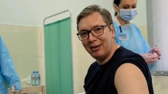Beoltották Aleksandar Vučićot
