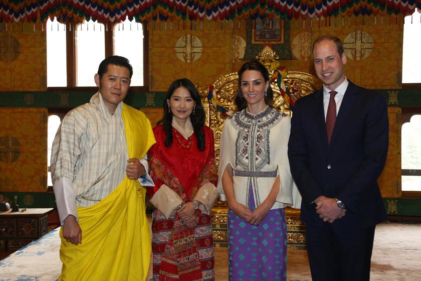 Dzsigme Keszar és felesége 2016 áprilisában találkozott Vilmossal és Katalinnal.