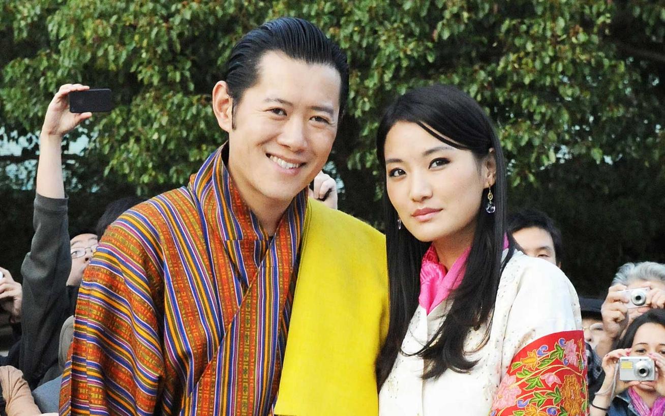 bhután-királya-és-királynéja