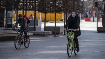Egyre csak növekszik a biciklis forgalom Budapesten