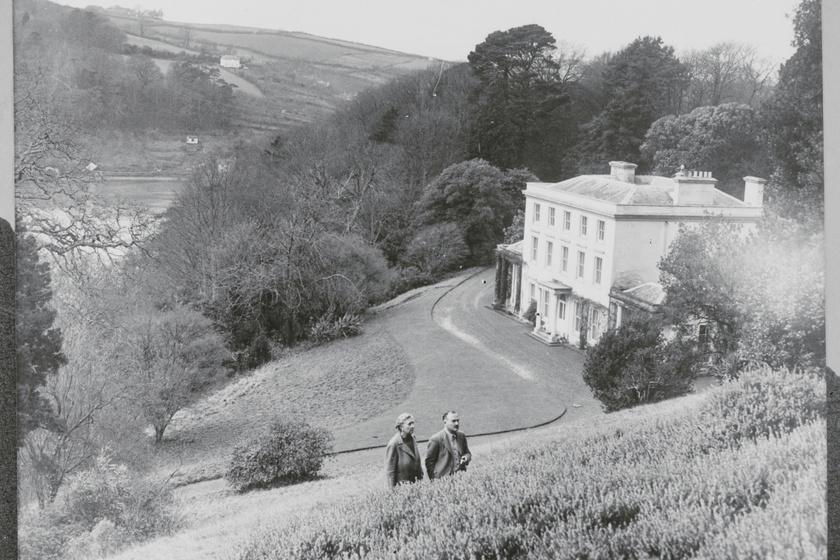 Agatha Christie és Max Mallowan Greenwayben.