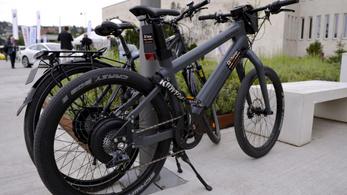 Elektromos kerékpárra szabhatják a KRESZ-t