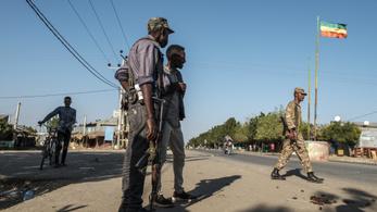 Újabb harcok kezdődtek Etiópiában