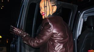 Rihanna átlátszó nadrában ment megünnepelni édesanyja születésnapját