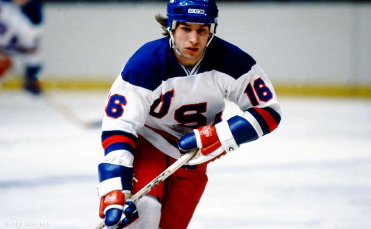 Mark Pavelich 1980-ban az amerikai válogatott tagjaként
