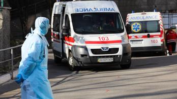 Ukrajnában is rekordot döntött a halálozás