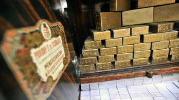 Megtriplázódott az MNB aranytartaléka