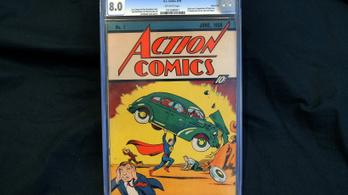 Csaknem egymilliárdot fizettek az első Superman képregényért