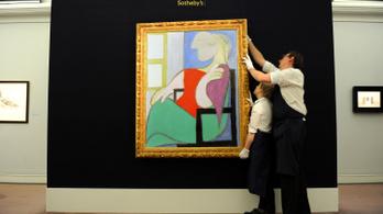 Több mint 50 millió dollárért kelhet el Picasso női portréja