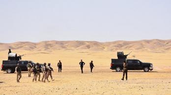 Lecsapott az Iszlám Államra az iraki hadsereg