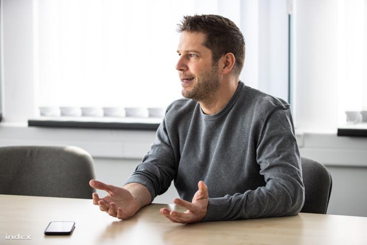 Barthos Zoltán, a Sportimádók Kft. ügyvezető igazgatója
