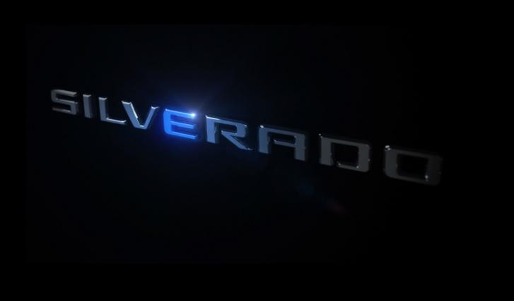 silverado ev teaser