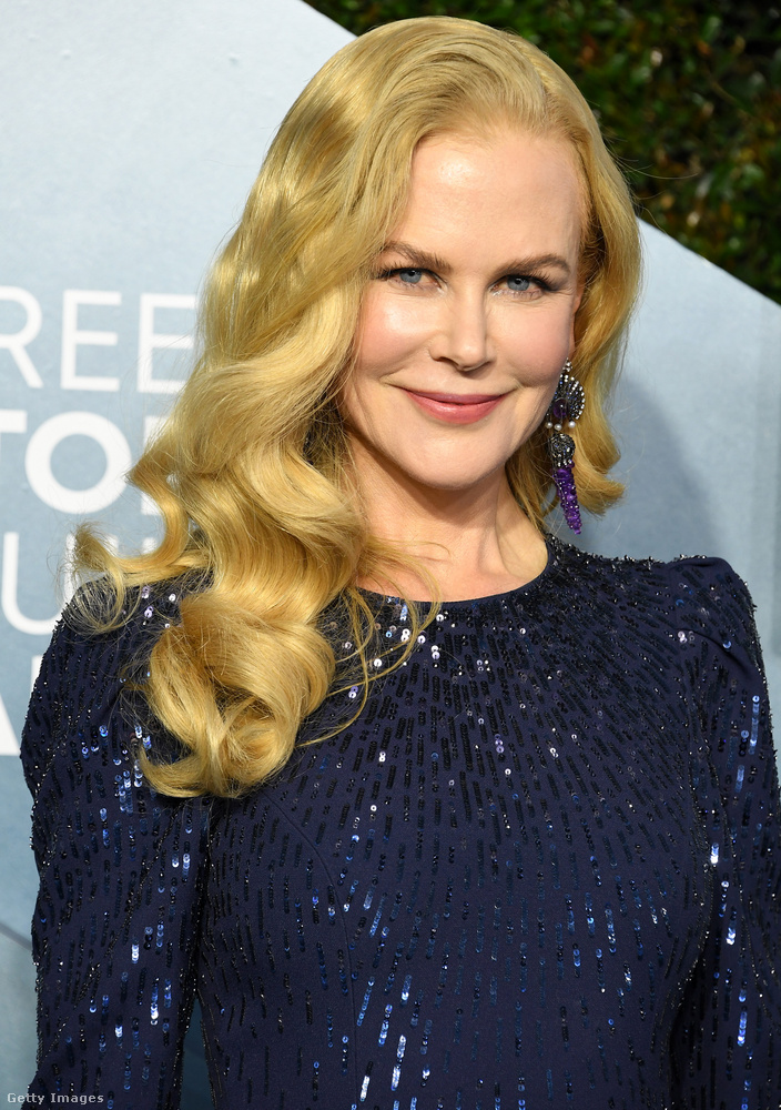 A kolléganője, Nicole Kidman.