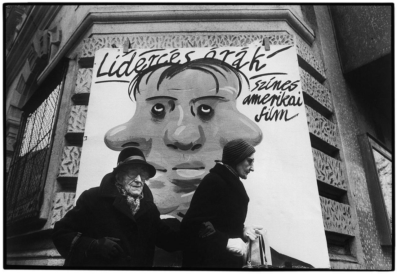 © Benkő Imre - Lenin körút. Budapest, 1988