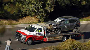 Tiger Woods a megengedett sebesség kétszeresével hajtott a baleseténél