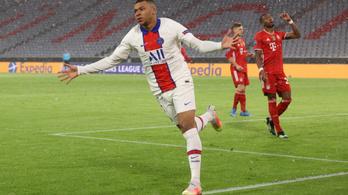 A Bayern focizott, a PSG lőtte a gólokat a müncheni hóesésben