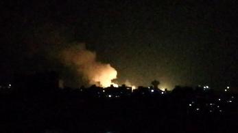 Izrael szíriai célpontokra mért légi csapást