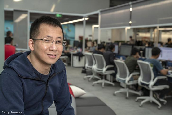Csang Ji-ming, a TikTok alapítója