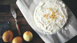Citromos-vaníliás gyors, kevert süti: önmagában és tortaalapként is finom lesz