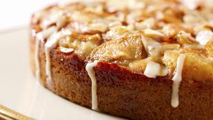 Gyors almás kevert süti mini adagban – fahéjjal és dióval a tetején még finomabb