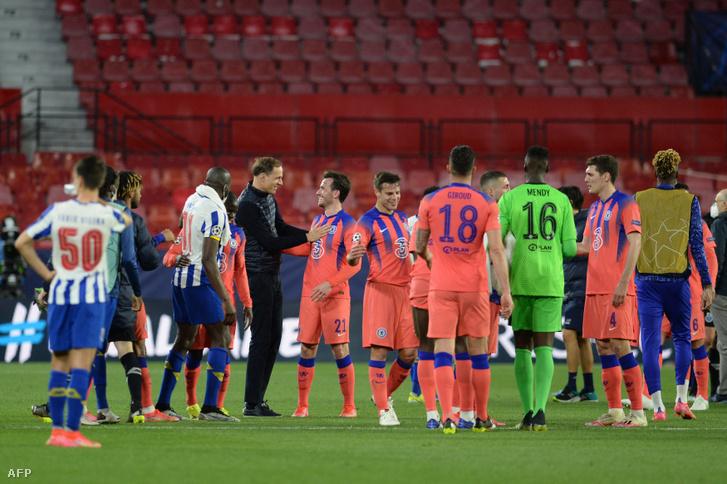 A Chelsea már az első meccsen nagy lépést tett a továbbjutás felé a Porto elleni negyeddöntőben