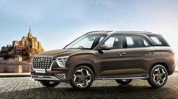 Bemutatták az új három üléssoros Hyundait