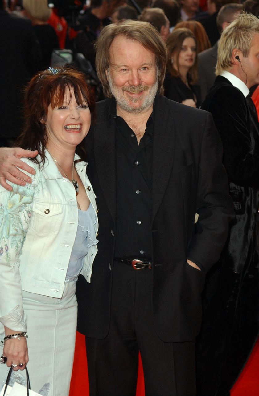 Benny és felesége 2004-ben.