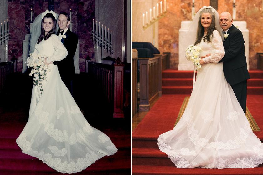 Ilyen a szerelem 50 év elteltével: különleges módon ünnepelte házassági évfordulóját a pár