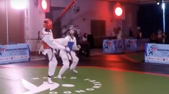 Magyar arany a taekwondo Európa-bajnokságon