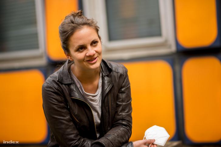 Hartai Petra, a film női főszereplője