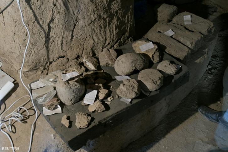 Régészeti felfedezések Luxorban, Egyiptomban