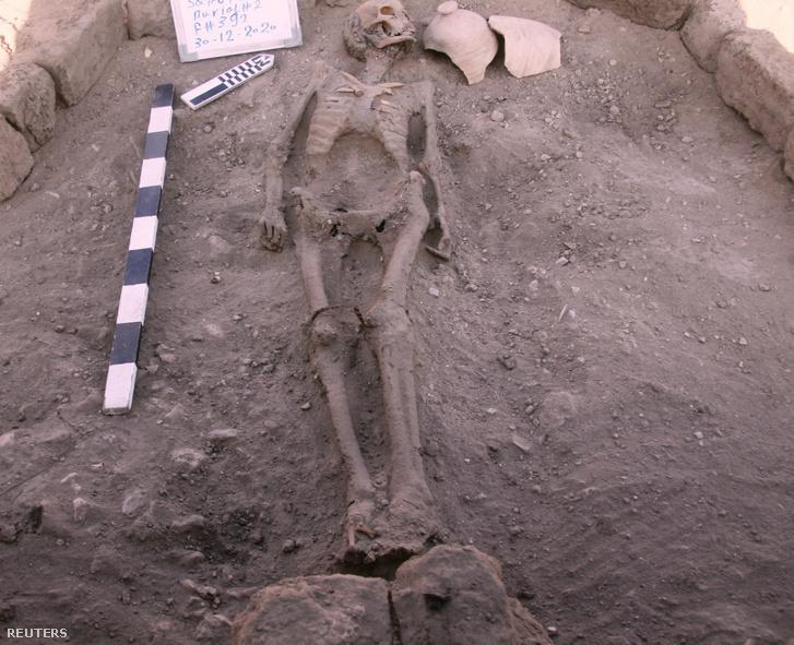 Csontvázas emberi maradvány