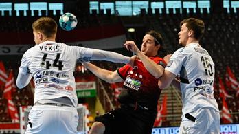 Kettős győzelemmel BL-negyeddöntős a Veszprém