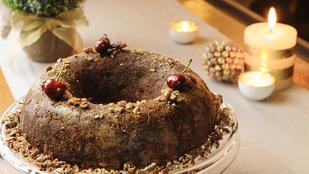 Kakaós-meggyes kevert süti – belga csokival és egy kis rummal dobtuk fel