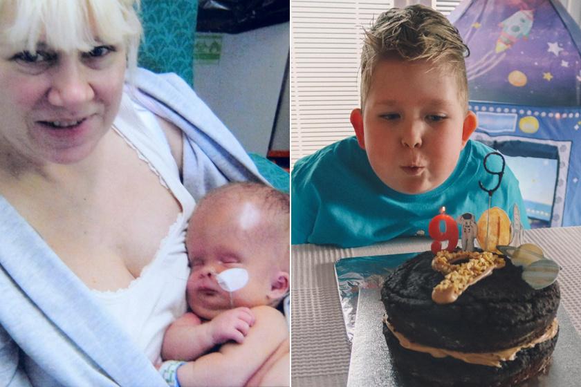 Az orvosok lemondtak az agykárosodott kisfiúról: 9 éves szülinapját ünnepelte Noah, aki beszélni és olvasni is megtanult