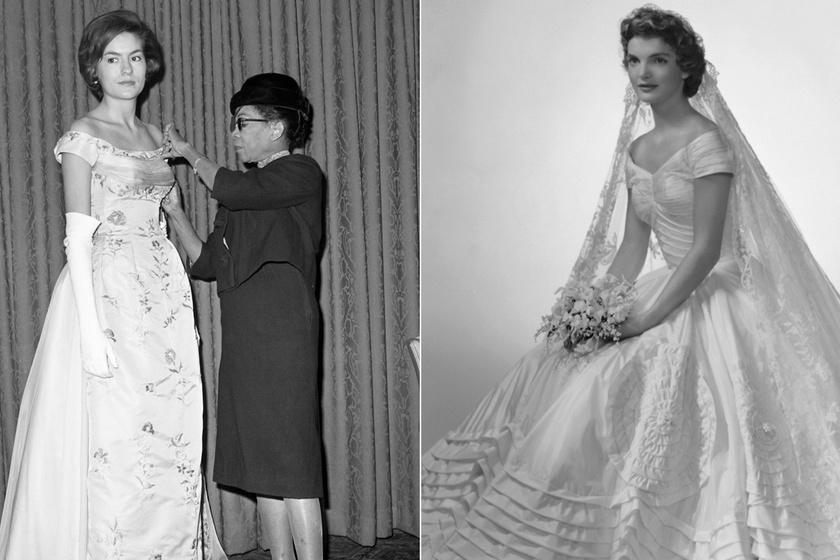 Ő volt az első igazán elismert fekete divattervező: Jackie Kennedy esküvői ruháját is Ann Lowe álmodta meg