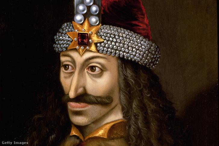 III. Vlad képe a tiroli Ambras kastélyban