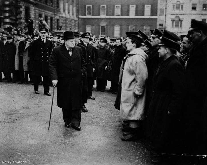 Winston Churchill 1940. április 19-én