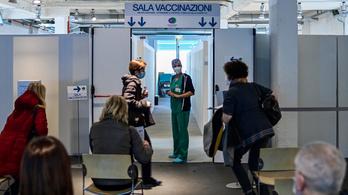 Kisebb káosz van Olaszországban, sokan soron kívül járnak oltatni, Szardíniát megint lezárták