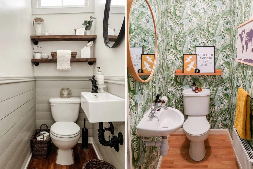 Lehangoló WC-ből stílusos helyiség: 8 előtte-utána fotón az inspiráló átváltozás