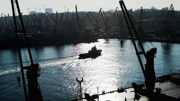 A orosz-ukrán konfliktus miatt akadozhat Kijev gabonaexportja
