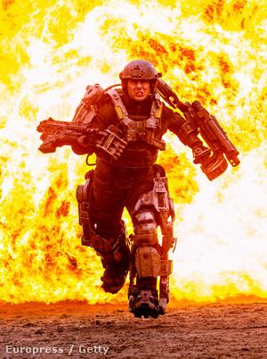 Tom Cruise a 2014-re tervezett All you need is kill forgatásán