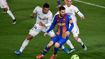 Benzema csodagólt lőtt, a Real nyerte az El Clásicót