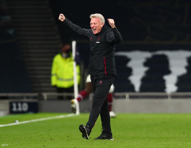 A West Ham United idei szezonját elnézve bőven van oka David Moyesnak az örömre